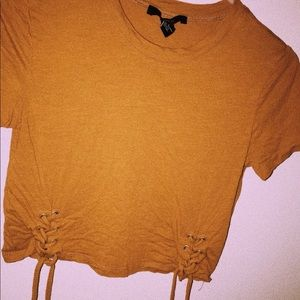Tops - Orange crop too